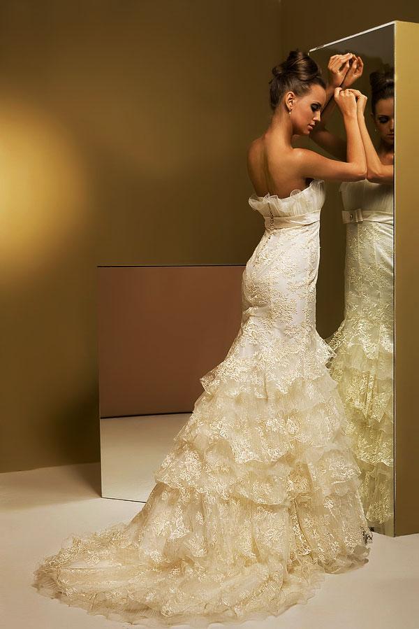 Невесты в платье рыбка фото 4
