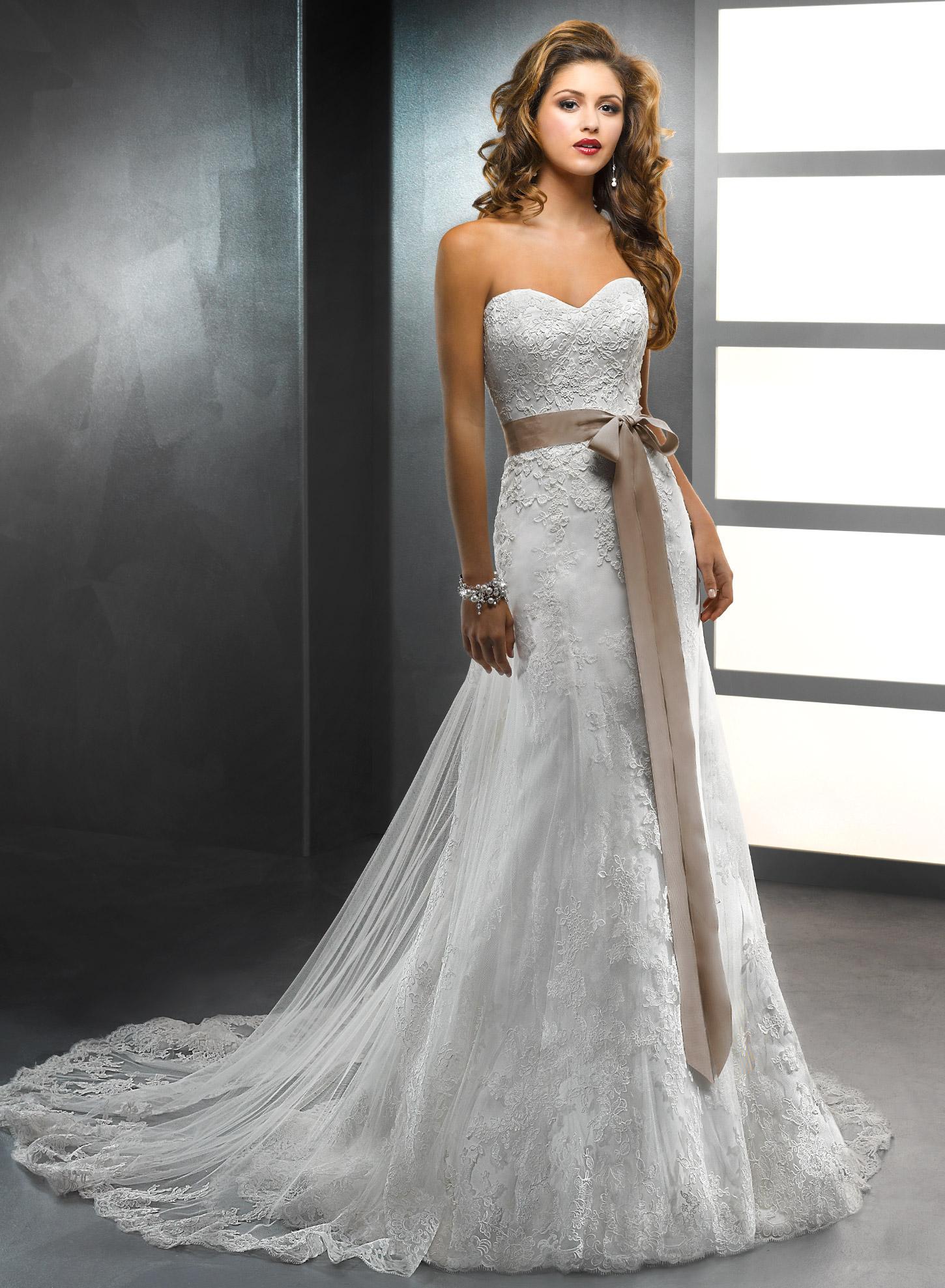 Свадебные обтягивающие платья