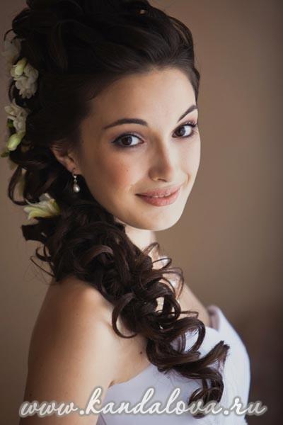 Фото в фотоальбоме от Свадебный ... Свадебная греческая прическа