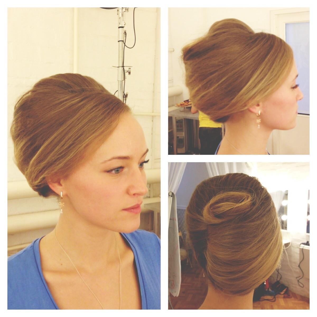 Как делать ракушку из волос фото