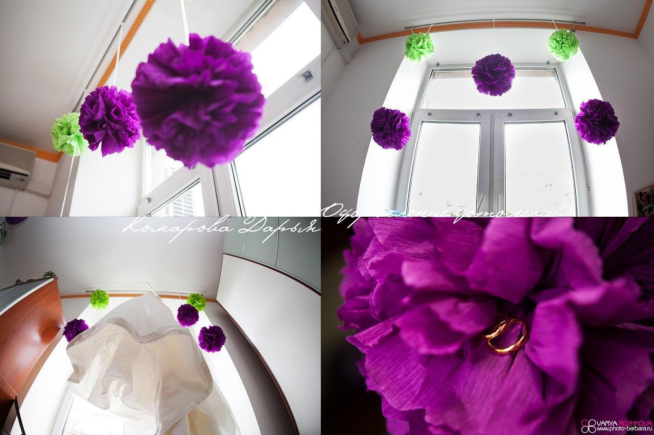 Украшения для комнаты на свадьбу своими руками