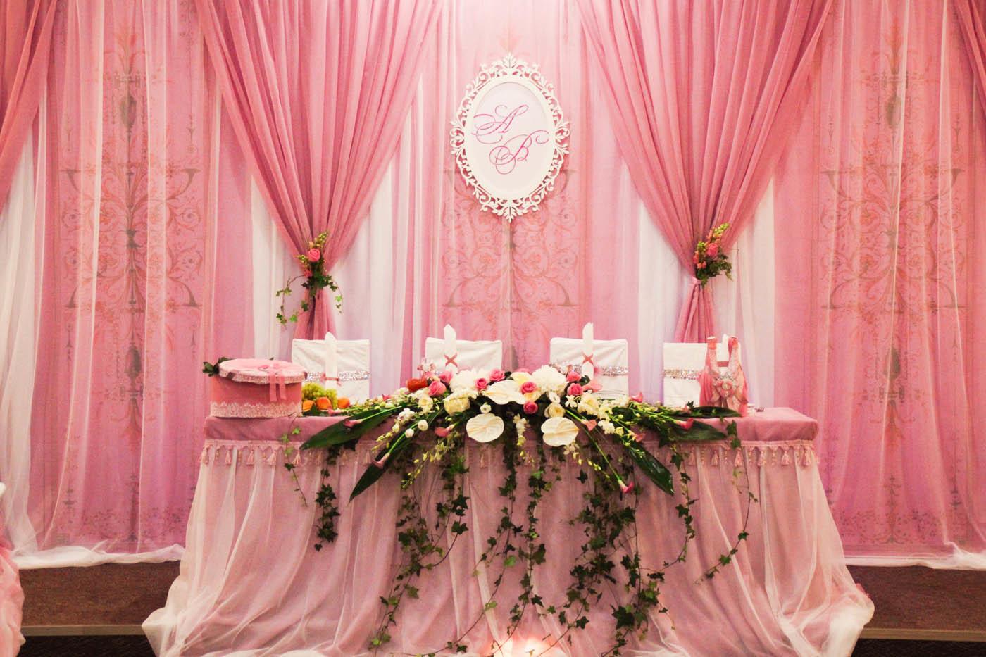 Свадьба в розовом цвете: фото и идеи 35
