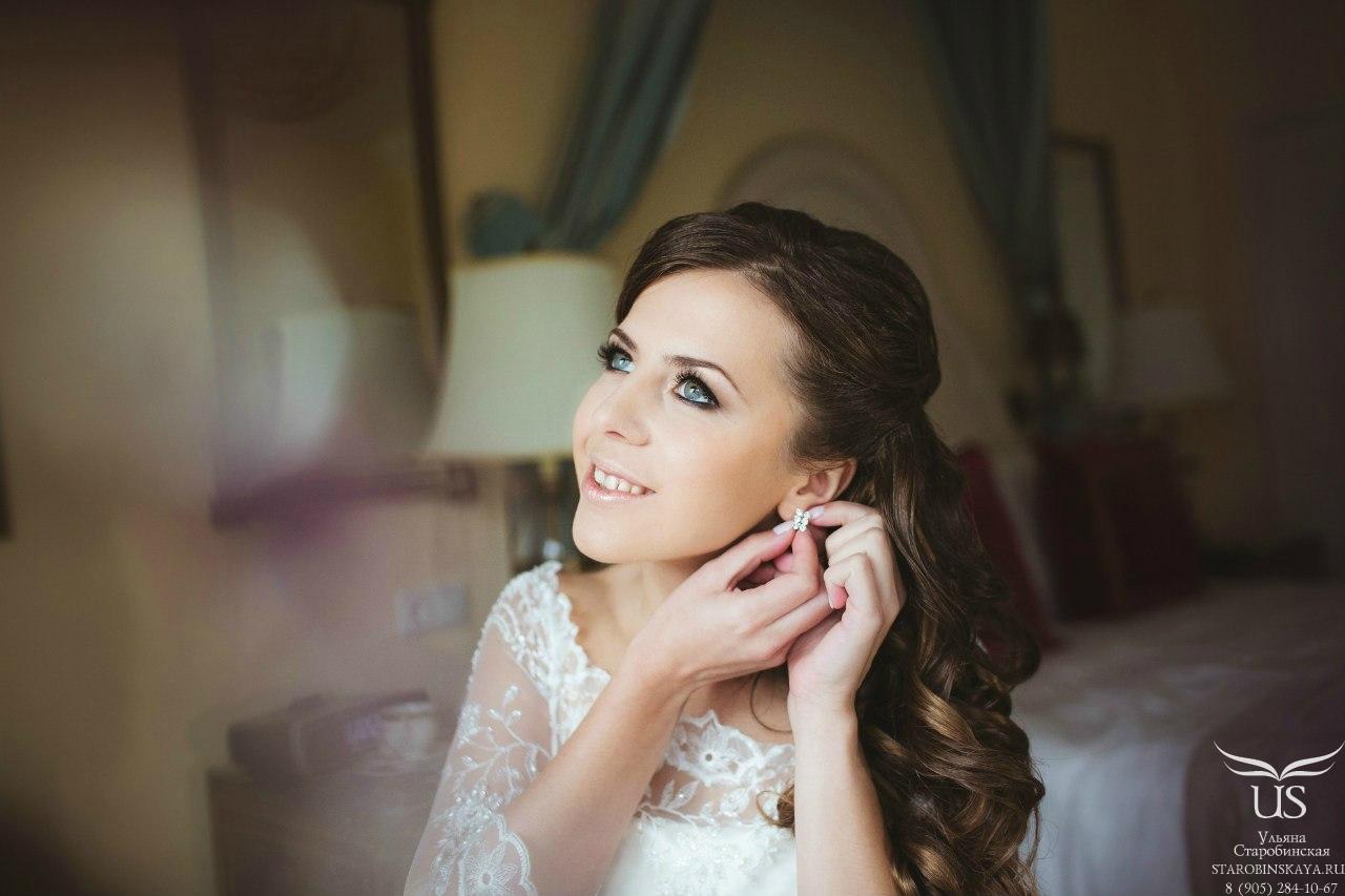Свадебный макияж шатенкам фото