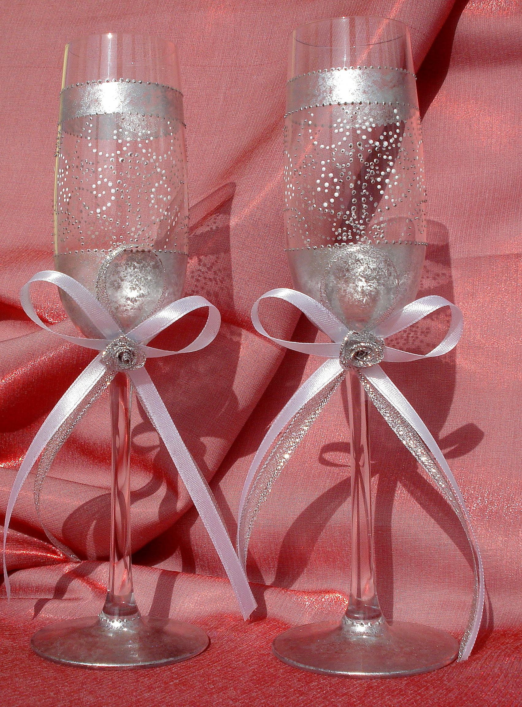 Украшения на серебряную свадьбу своими руками