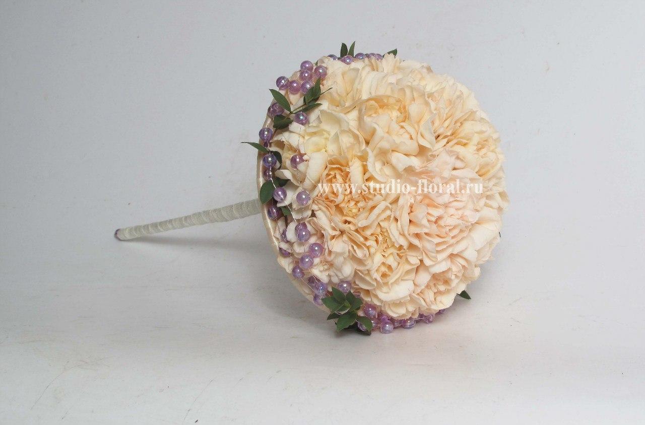Свадебный букет из гвоздик - значение и символика 76