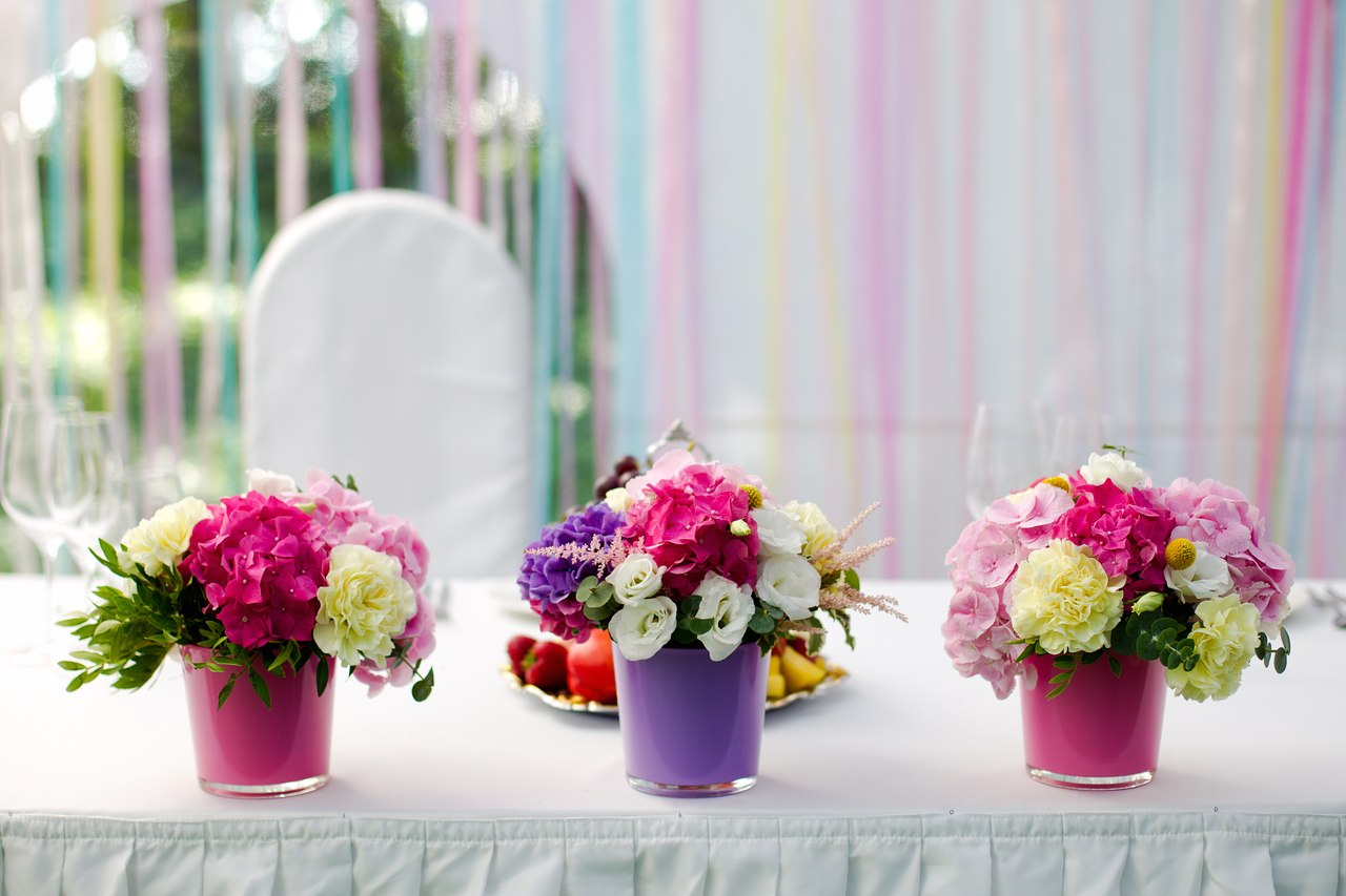 Цветы на стол своими руками фото