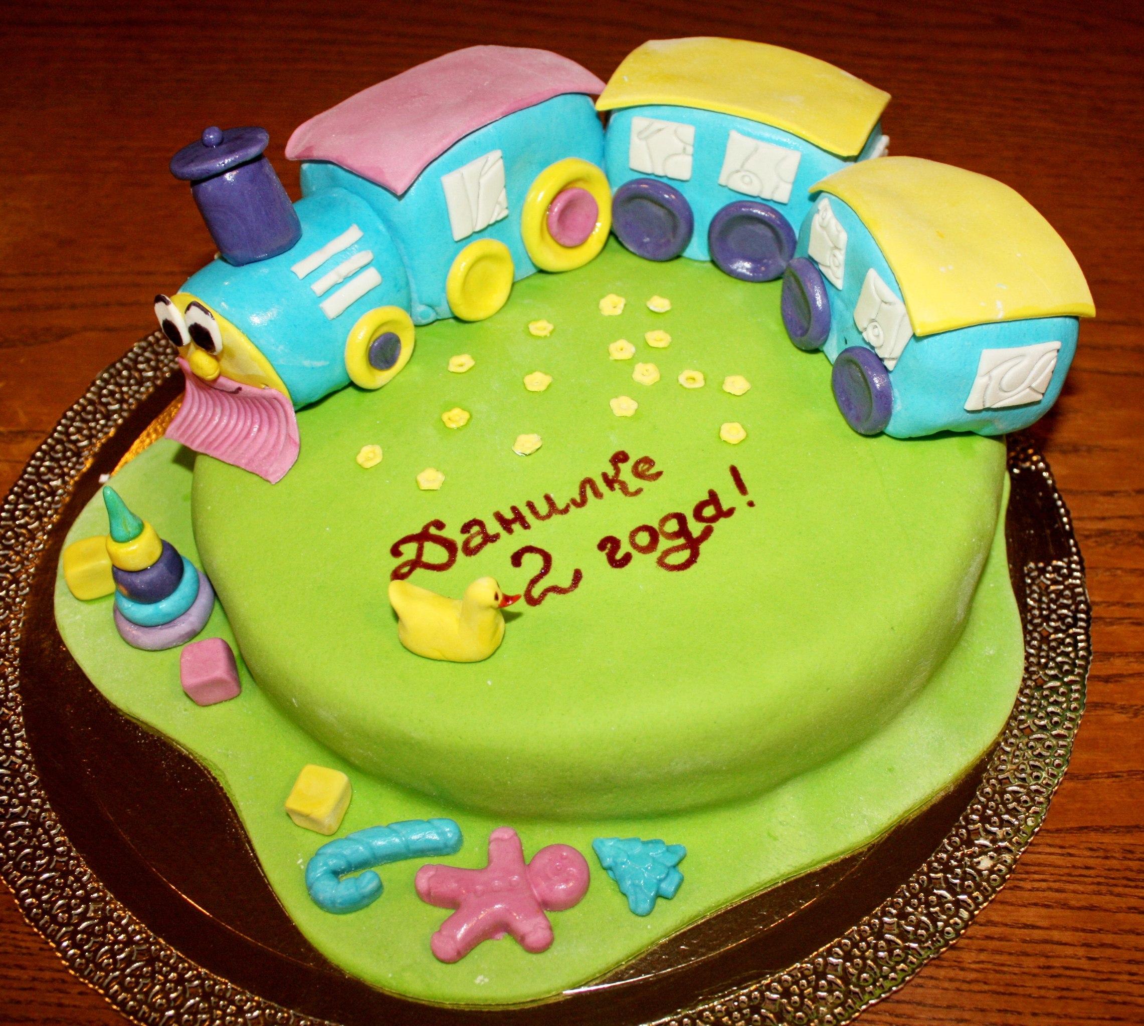Торт своими руками сыну на 3 года