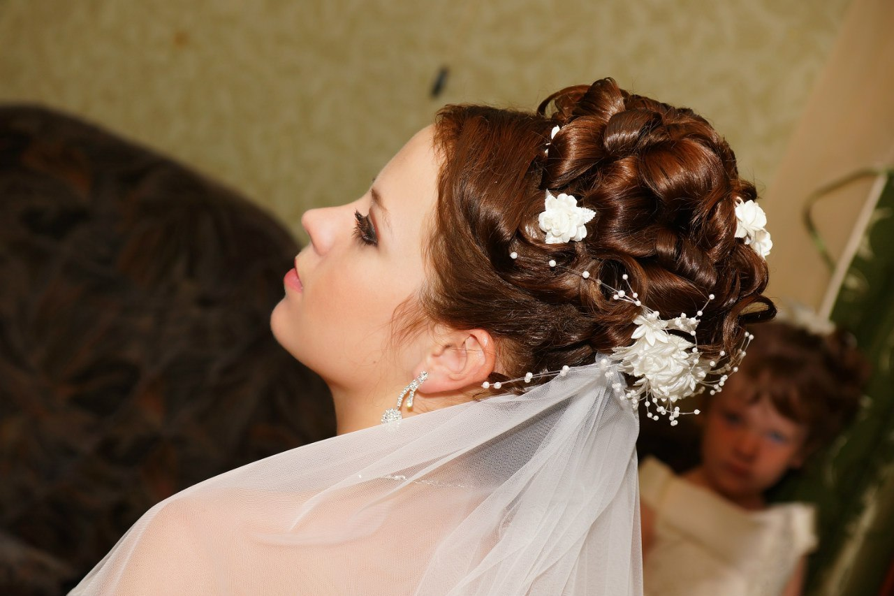 Свадебные прически в орле