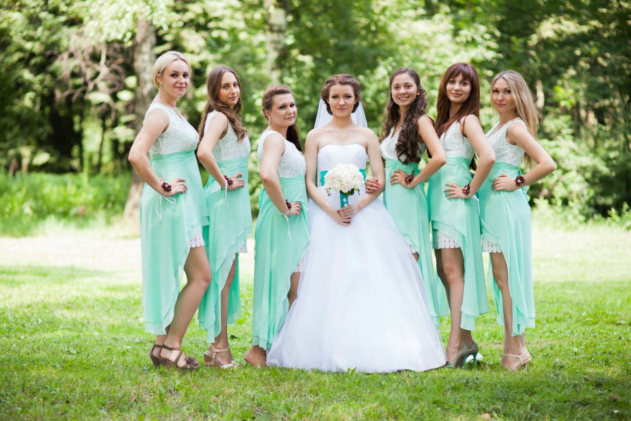 Фото свадеб в ярких тонах