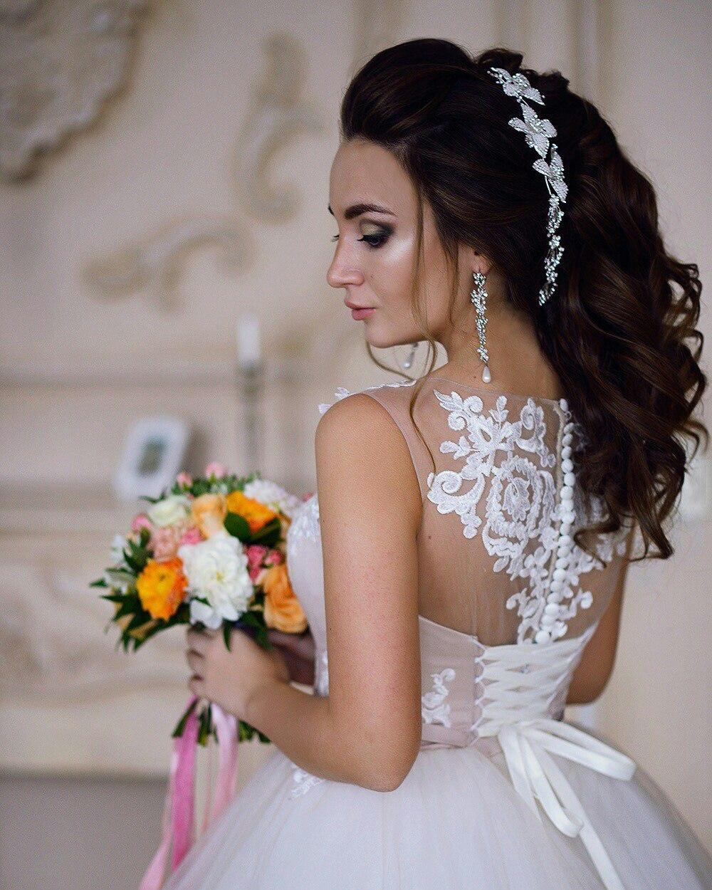Свадебная прическа ульяновск