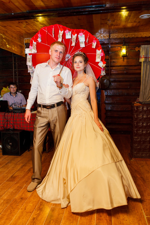 Как сделать зонт с деньгами для свадьбы 438
