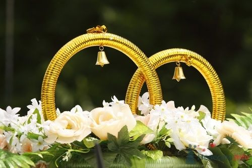 Свадебные кольца на машину. - фото 98 Невеста01