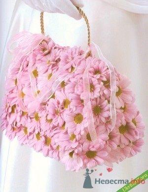 Букет невесты в виде сумки. - фото 64 Ночь'нушка