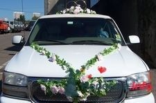 Фото 4827 в коллекции украшения на свадебную машину
