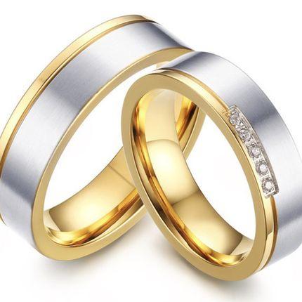 Помолвочные кольца матовые