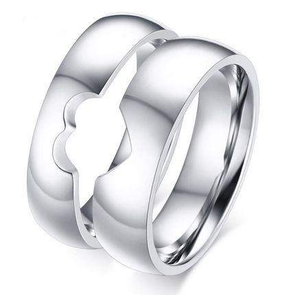 """Парные кольца """"Частички сердца"""""""