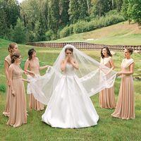 сборы невесты, платье, целеево, подружки невесты
