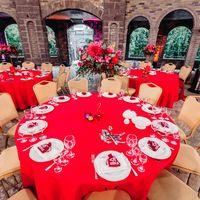 колизей, немчиновка, стол гостей, сервировка, рассадка, оформление