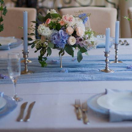 Комплексный декор гостевых столов, цена за 1 стол