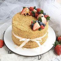 Торт с оформлением