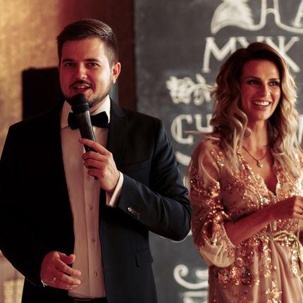 Проведение свадьбы дуэтом ведущих + DJ - на вечер