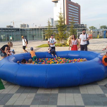 Сухой бассейн большой в аренду