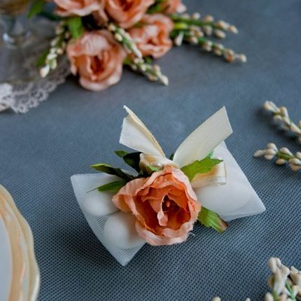 Бонбоньерки с наполнением - коллекция Английский сад, цена за 1 шт