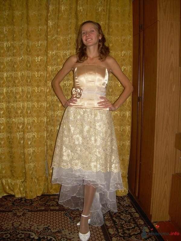 Комплект свадебный Золотой - фото 63140 Ателье свадебной и вечерней одежды Ирины Балявиной
