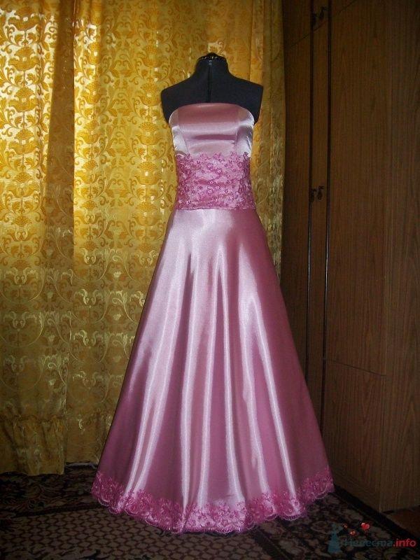 Комплект свадебный из розовой тафты - фото 63143 Ателье свадебной и вечерней одежды Ирины Балявиной