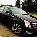 Черный Cadillac CTS. 1500 руб./час. тел. 232-230