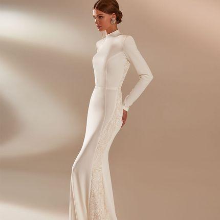 Платье с рукавами Русалка