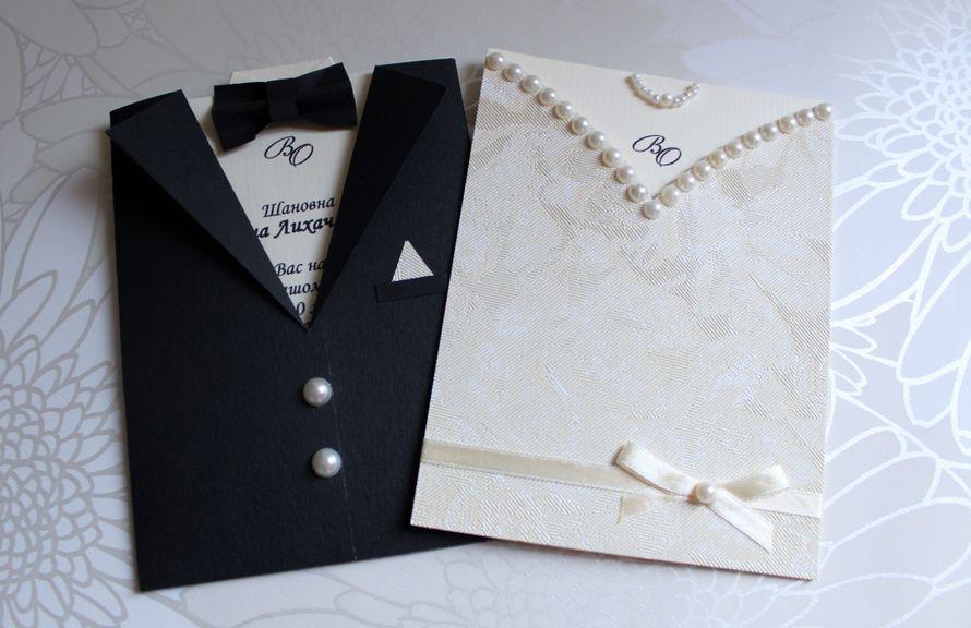 приглашения на свадьбу - фото 570800 Творческая мастерская Оксаны Кушнир