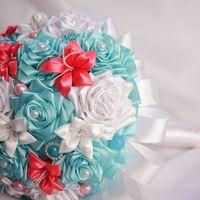 Свадебный букет невесты для свадьбы в стиле Тиффани