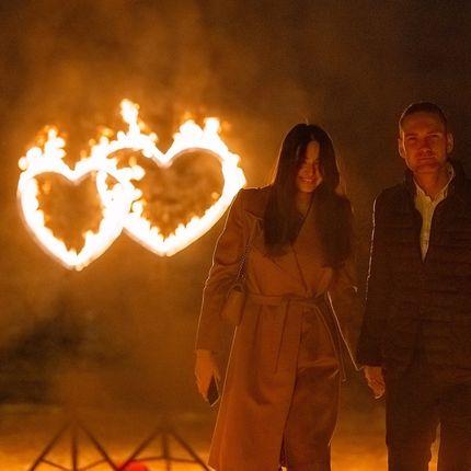 Огненные сердца - парные
