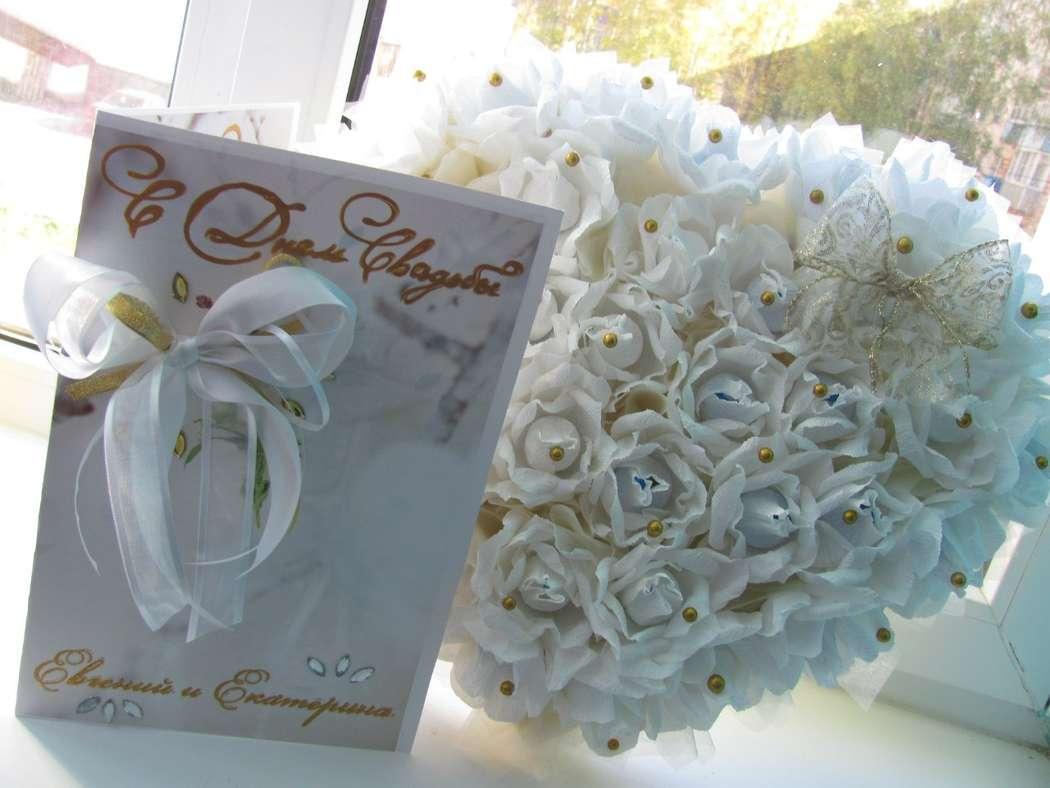 Фото 1488431 в коллекции Сладкие подарки молодоженам - Olga Kalyakina - свадебные аксессуары