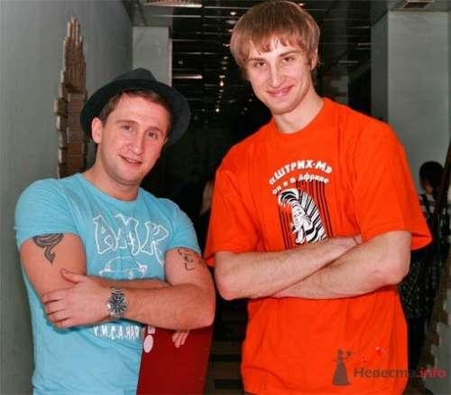 С Оскаром Кучерой после совместного мероприятия. - фото 3559 Невеста01
