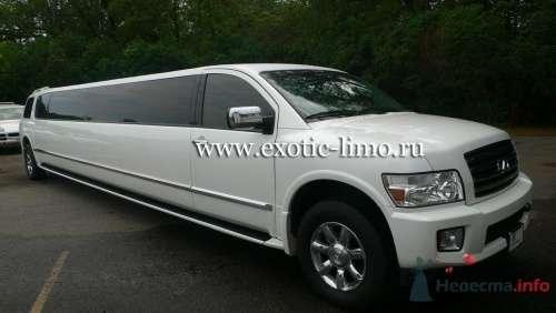 Прокат лимузина Infiniti QX56 - 2 - фото 3634 Экзотические лимузины - аренда лимузинов
