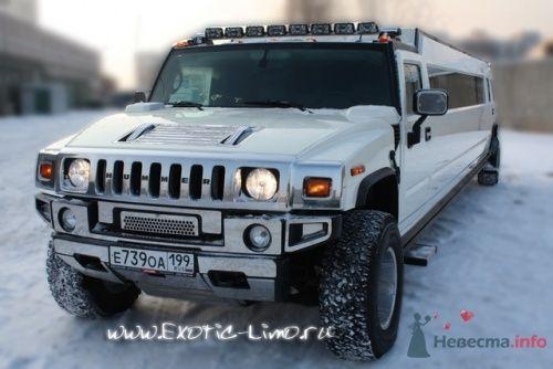прокат лимузина Hummer - фото 8072 Экзотические лимузины - аренда лимузинов