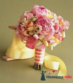 Фото 90095 в коллекции Букет невесты, подружек, и бутоньерка жениха! - Невеста Настенька