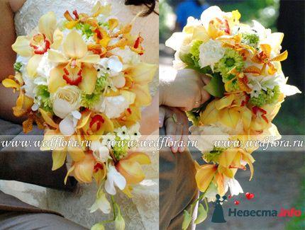 Фото 90097 в коллекции Букет невесты, подружек, и бутоньерка жениха! - Невеста Настенька