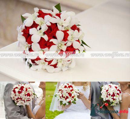Фото 90120 в коллекции Букет невесты, подружек, и бутоньерка жениха! - Невеста Настенька