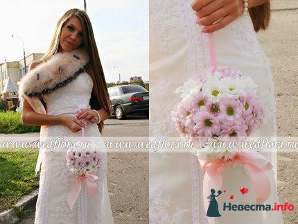 Фото 90127 в коллекции Букет невесты, подружек, и бутоньерка жениха! - Невеста Настенька