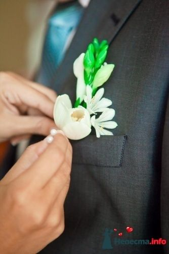 Фото 90158 в коллекции Букет невесты, подружек, и бутоньерка жениха! - Невеста Настенька
