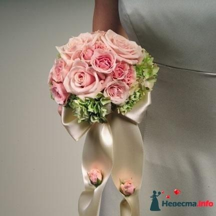 Фото 90164 в коллекции Букет невесты, подружек, и бутоньерка жениха! - Невеста Настенька