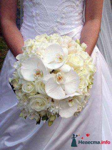 Фото 90166 в коллекции Букет невесты, подружек, и бутоньерка жениха! - Невеста Настенька