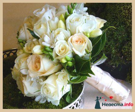 Фото 90167 в коллекции Букет невесты, подружек, и бутоньерка жениха! - Невеста Настенька