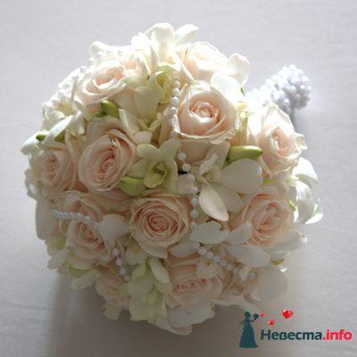 Фото 90169 в коллекции Букет невесты, подружек, и бутоньерка жениха! - Невеста Настенька