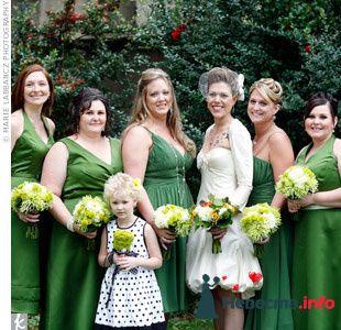 Фото 103287 в коллекции Зеленая свадьба - Невеста Настенька