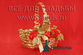 Корзинка для лепестков. - фото 95181 Невеста Настенька