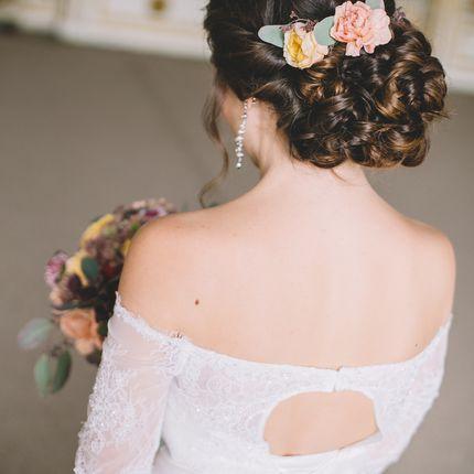 Свадебный макияж, прическа и репетиция